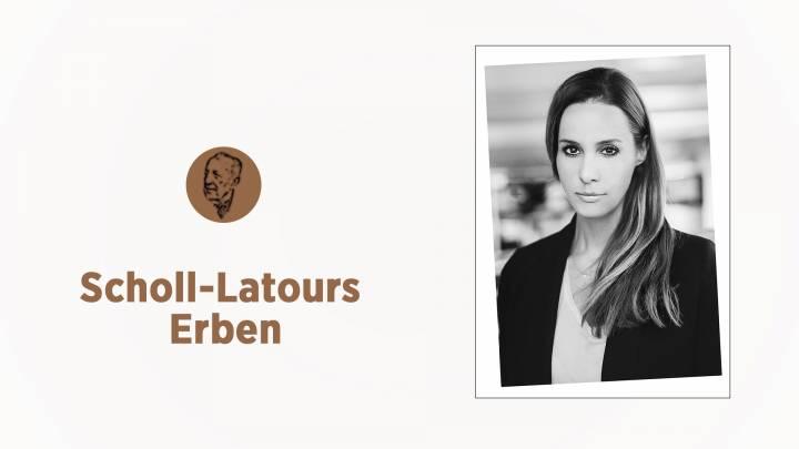 Scholl-Latours-Erben: Natalie Amiri