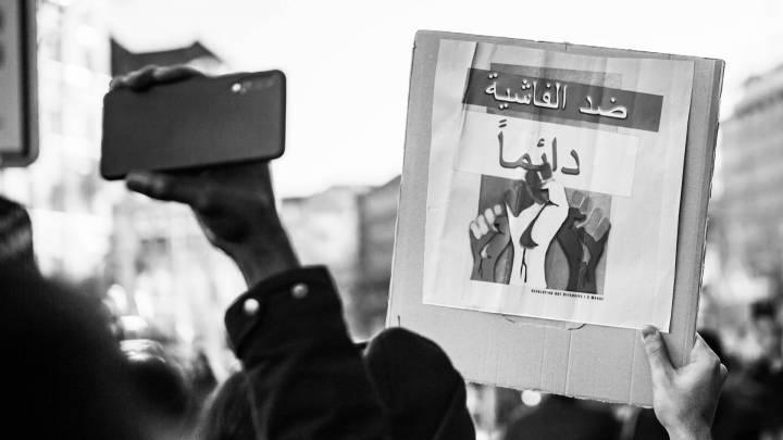 من مظاهرات برلين دعماً للسودان