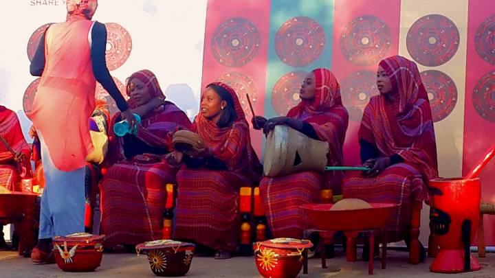 فرقة موسيقية نسائية سودانية