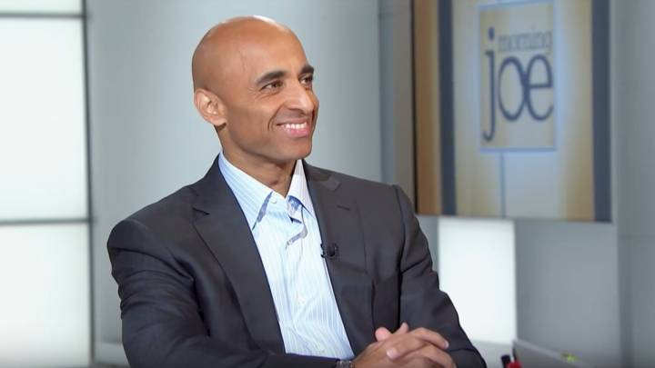 Yousef Al Otaiba, the UAE ambassador, on the US television show Morning Joe in 2014.