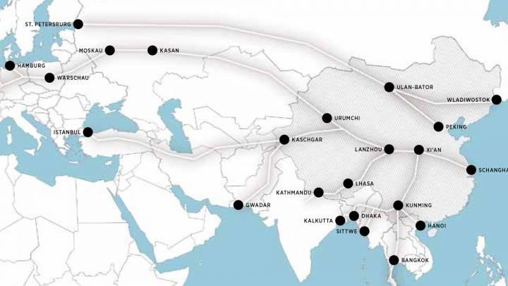 Chinas Handelsrouten