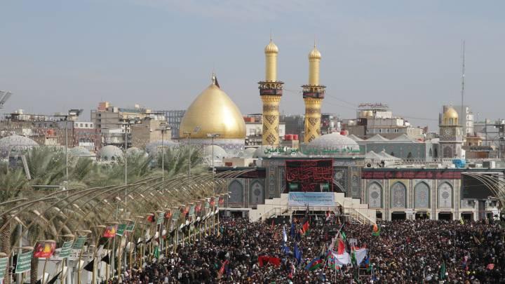 Die Pilgerstätte im irakischen Kerbela