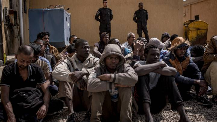 In Libya many militia groups profit from holding migrants in detention; the country's lawlessness has contributed to a humanitarian disaster.