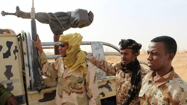 Um Al Anareb Milizionäre