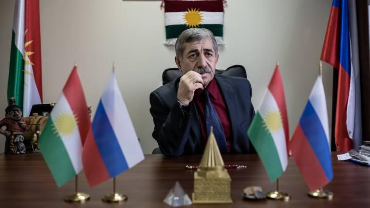 Die Kurden und Russland