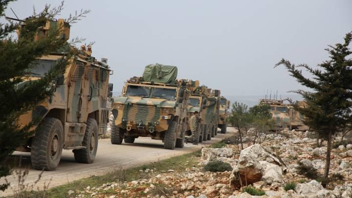 Russland und die Türkei und der Krieg in Syrien