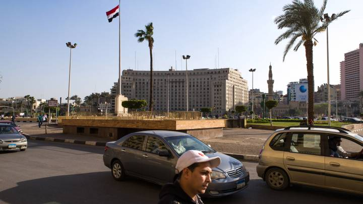 Tahrir Square in Cairo. Since 2013, Egypt has experienced extremist attacks in its major cities and on the Sinai Peninsula, most recently the 24 November mosque attack that killed more than 300 worshippers.