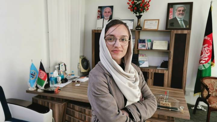 Interview with Afghanistan's youngest mayor Zarifeh Ghafari