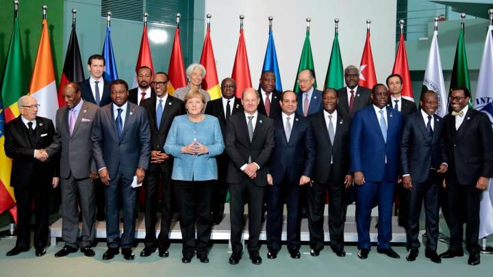 Angela Merkel mit Abiy Ahmed in Berlin