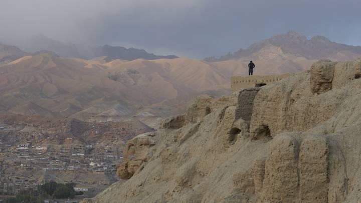 Blick über das Tal von Bamiyan