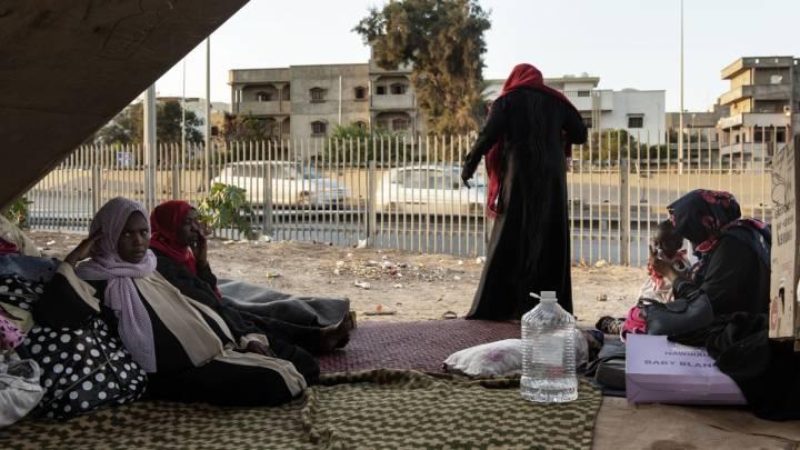 Zustände in libyschen Flüchtlingslagern