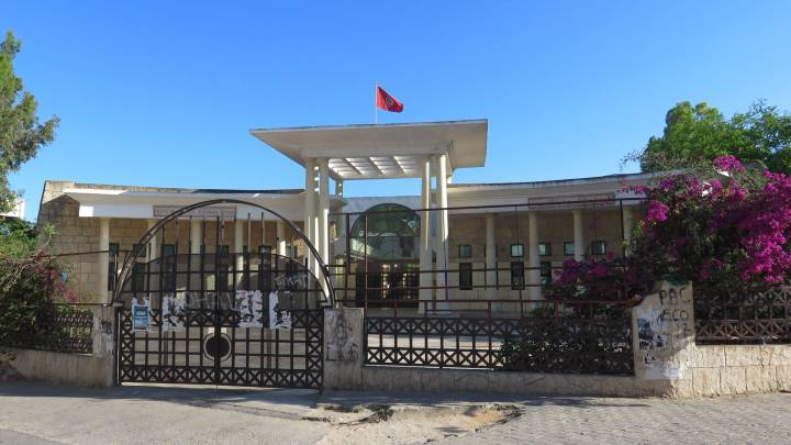 The Carthage Byrsa School in Tunis.
