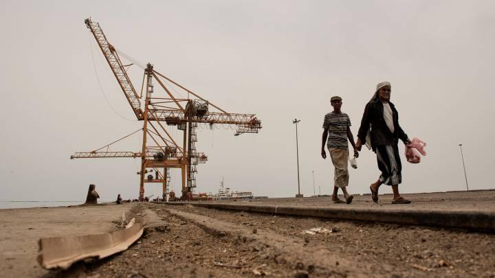 Jemens wichtigster Hafen