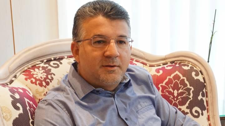 Der arabisch-israelische Knesset-Abgeordnete Yousef Jabareen