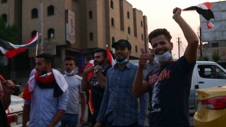 The demographics of Iraq's protest movement