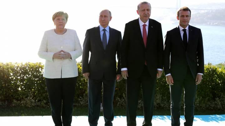 Diplomatie, Russland und die Türkei in Libyen