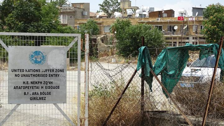 Die Teilung auf Zypern