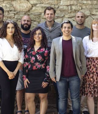 Das Team von zenith und der Candid Foundation