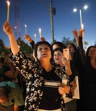 Mourners celebrate Nahed Hattar