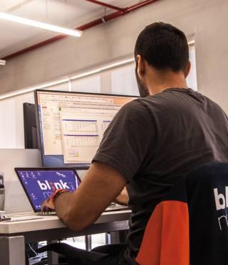 Blink My Car in Lebanon's Beirut Digital District (BDD).