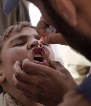 Polio in Afghanistan