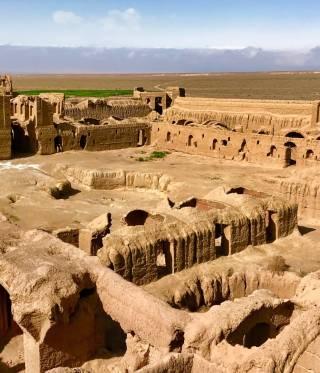 Die Festung Qal'eh Karshahi