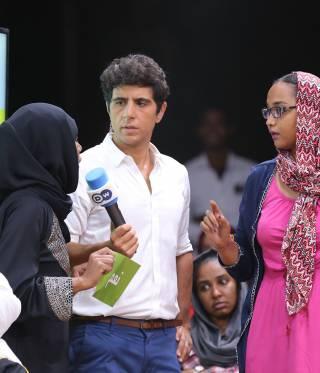 """لقاء مع جعفر عبد الكريم حول برنامجه """"شباب توك"""""""