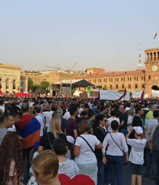 Ein Jahr »Samtene Revolution« in Armenien