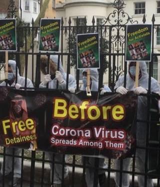 Gefängnisse im Nahen Osten und Corona