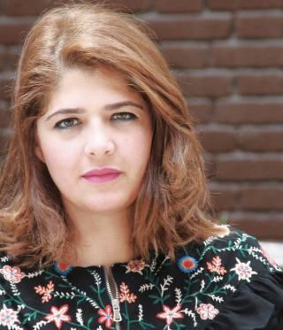 Mona Shahien is the founder of Tahrir Lounge@Goethe.