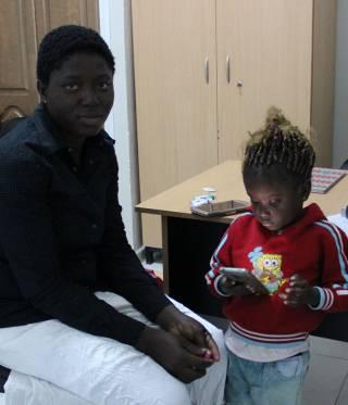 Afrikanische Migranten in Tunesien