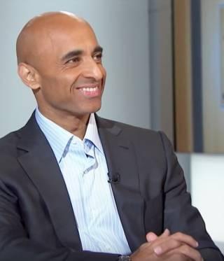Yousef Al Otaiba, the UAE ambassador, on the US television show Morning Joe in 2014.